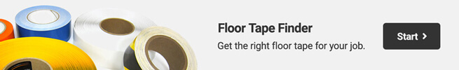 Floor Tape Finder - Answer 3 questions to find the perfect tape for you.