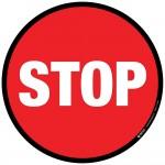 Stop-Floor-Sign