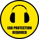 ear-protection-required-floor-sign