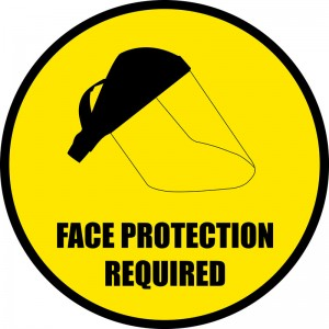 face-protection-floor-sign