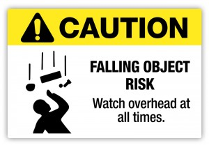 Falling-Object-safety-sign