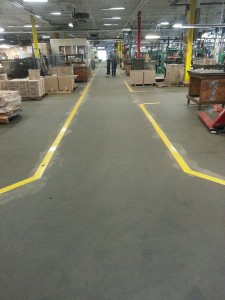 Floor Tape Instead of Paint