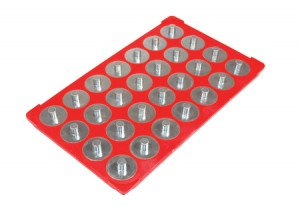"""3/8"""" Red Socket Caddy & 28 Pegs"""