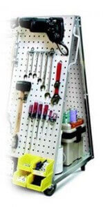 Mobile Tool Carts : Mobile Pegboard