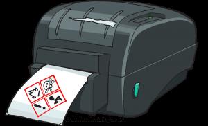 LabelTac GHS Label Printer