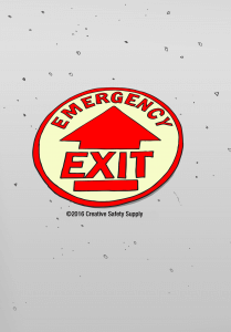 emergency-exit-floor-sign