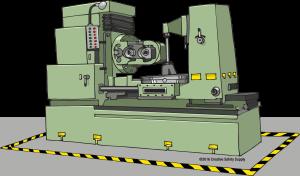 floor-marked-machine