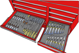 Foam Tool Organizer Toolbox