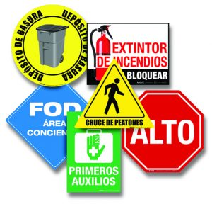 Spanish Safety Signs