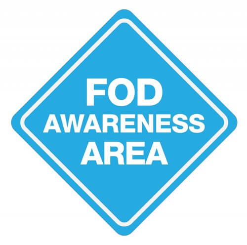 FOD Awareness Sign