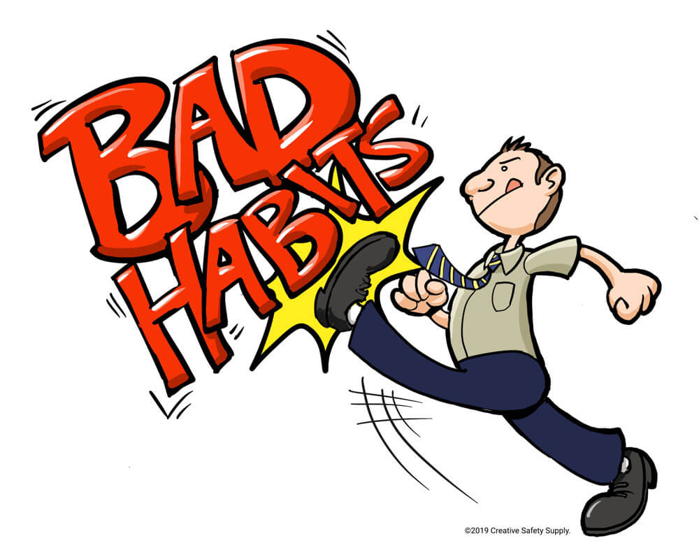 Kicking bad habits